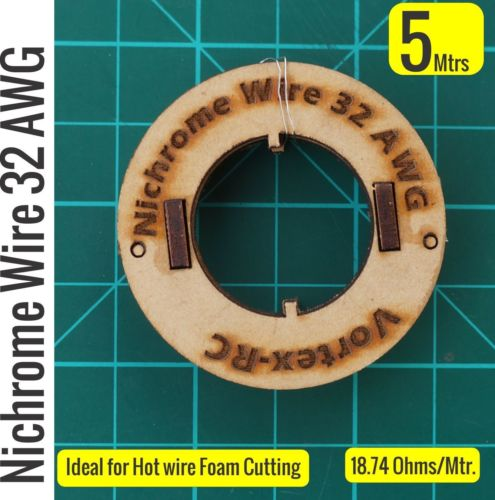 5 Meters 32AWG Nichrome Wire