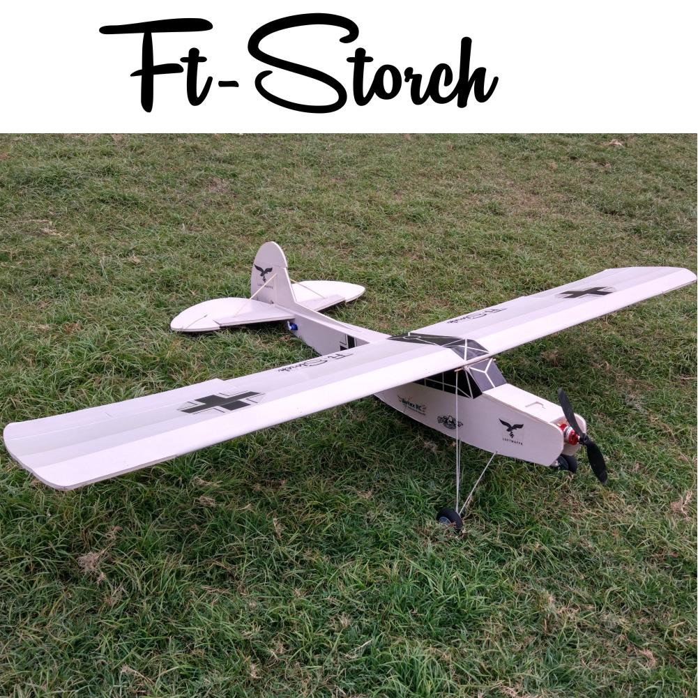 Ft Storch Laser Cut Foamboard Speed Build Kit Vortex Rc