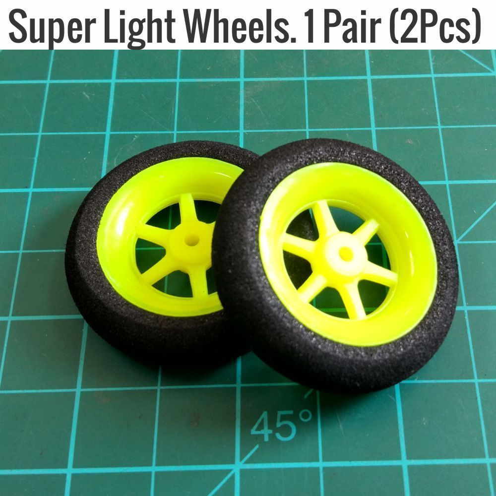Super Light Multi Spoke Wheels 40MM Diameter RC airplane Landing gear