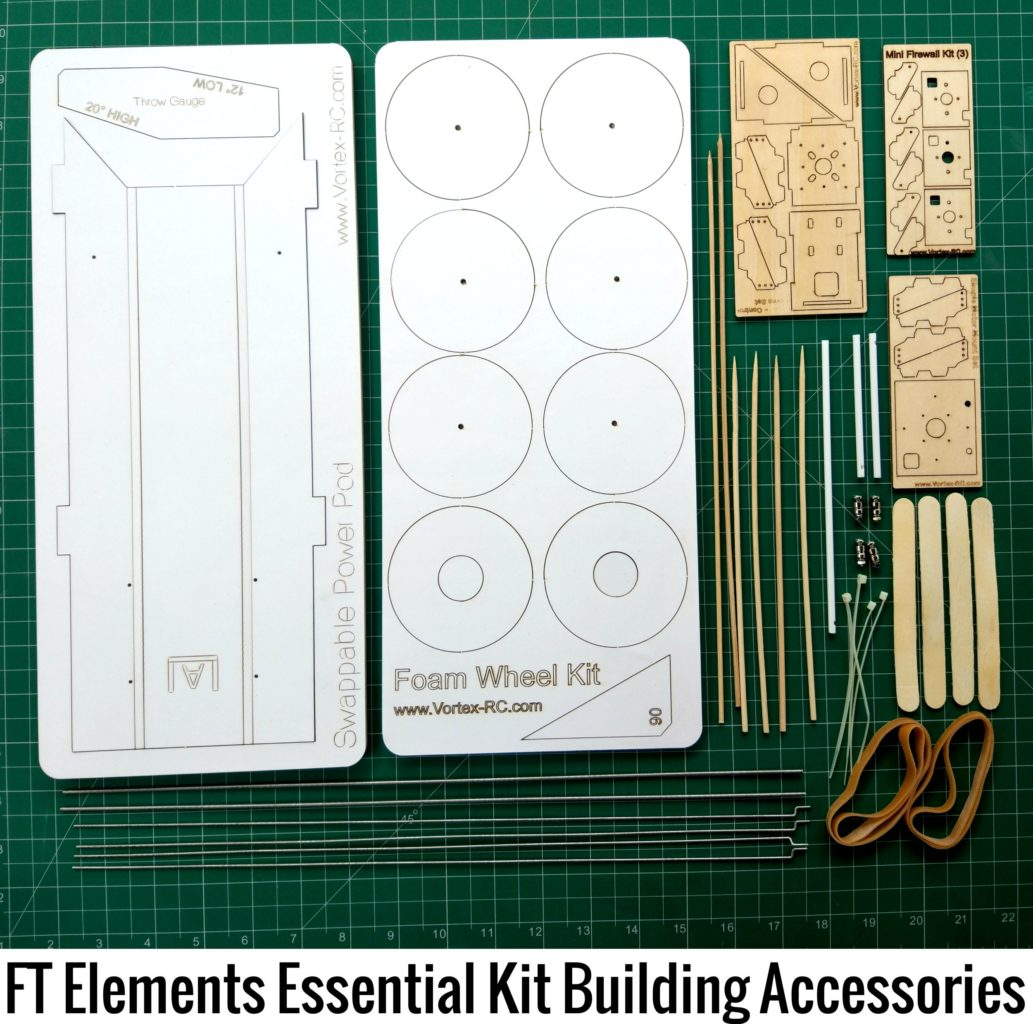FT Elements Essential Speed Build Kit Accessories for Flite Test RC planes