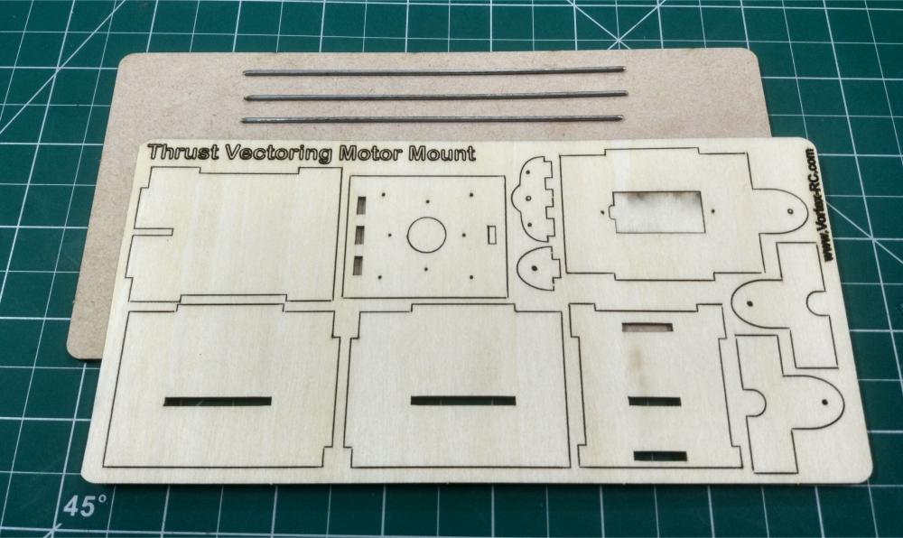 Ft Elements Thrust Vectoring Motor Mount Vortex Rc