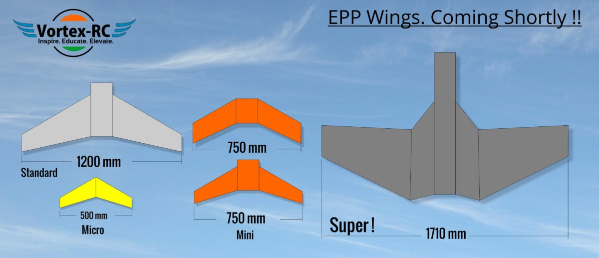 Designing and Building some EPP Flying Wings ! - Vortex-RC