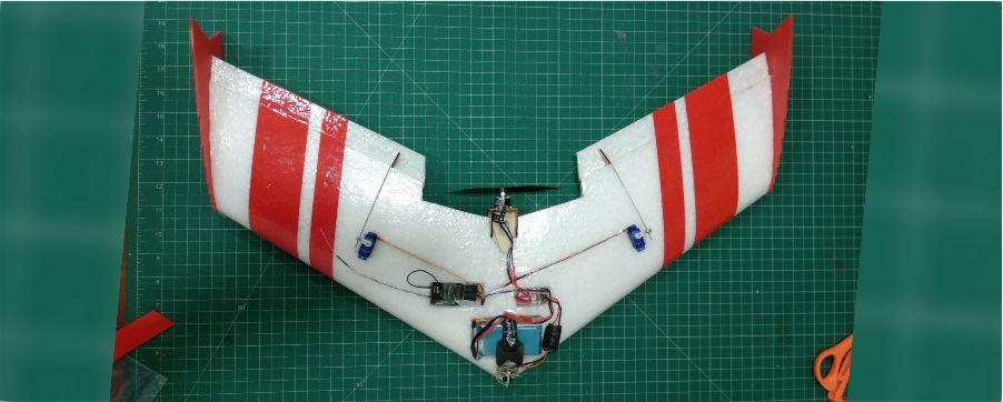 TuffBirds Microbee FPV EPP Flying Wing 3