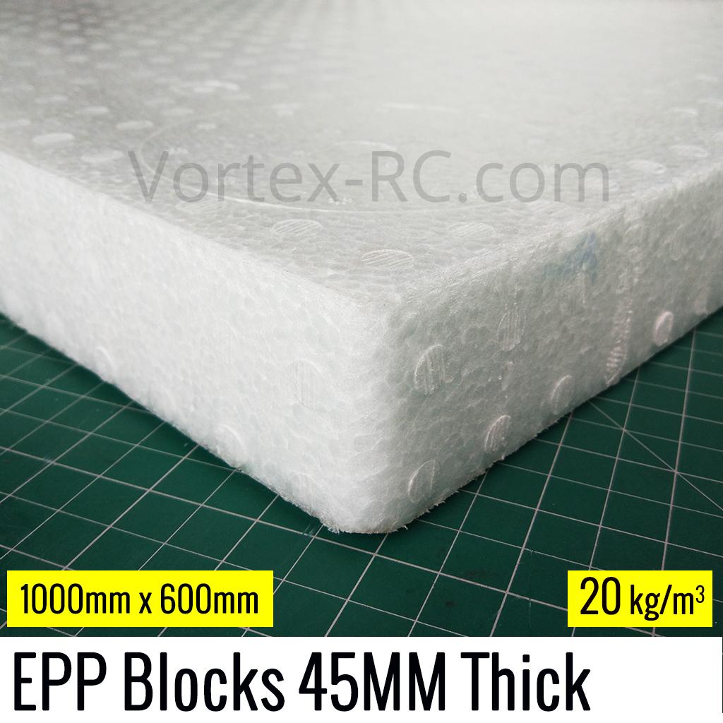 45MM EPP Foam Block 1000x600 MM