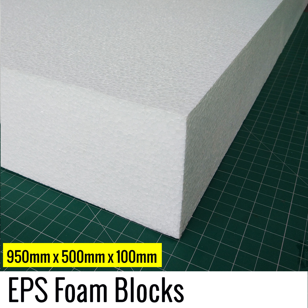 100mm Eps Foam Block In India 950x500 Mm Vortex Rc