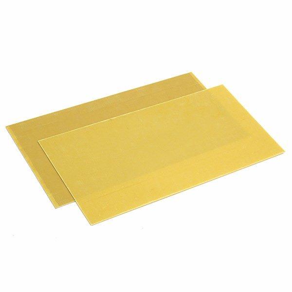 2mm Yellow Fiberglass Sheet Epoxy Resin G10 FR4 300MM x 200MM 1 Sheet