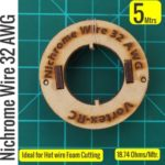 Nichrome wire – For Hot wire Foam cutting (5 Meters) 32AWG – High quality