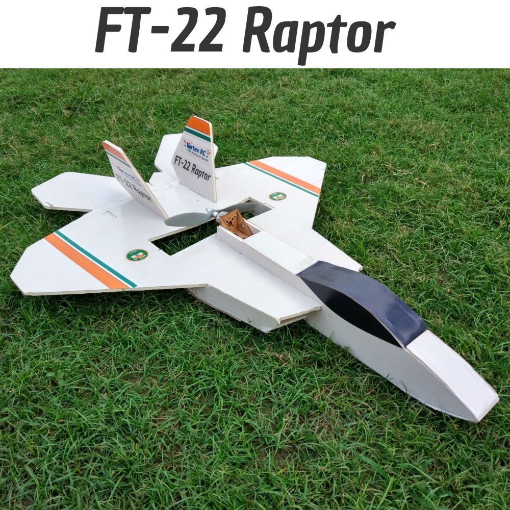 Rc Plane Kits Vortex Radio Control Circuit For Planes Ft 22 Raptor Speed Build Kit