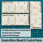 Simple-Motor-Mount-and-Control-horns