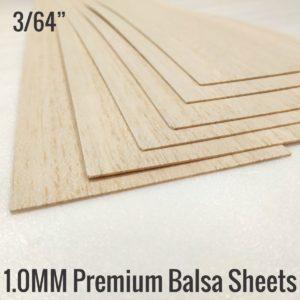 1MM Balsa Sheets