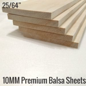 10MM Premium Imported Balsa Sheets