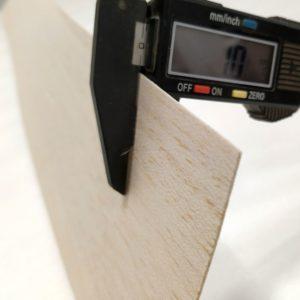 1MM AAA Grade Balsa Wood Sheets