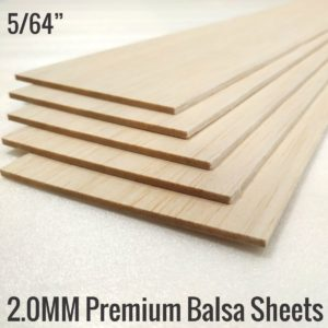 2MM Premium Imported Balsa Sheets