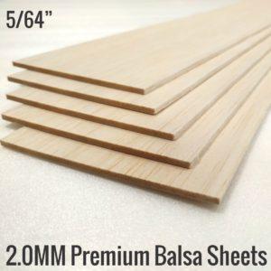 2MM Premium Imported Balsa Sheets