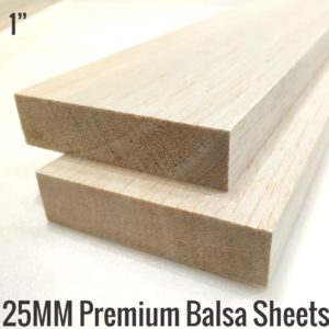 25MM Premium Imported Balsa