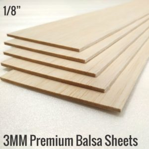 3MM Imported Balsa Sheets