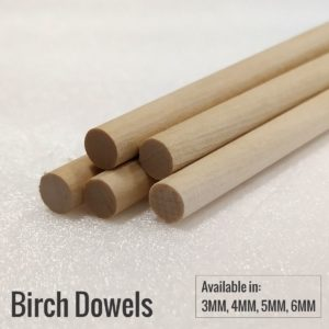 Birch Wood Dowels