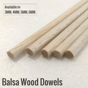 Balsa Dowels
