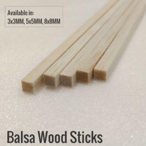 Balsa Wood Sticks